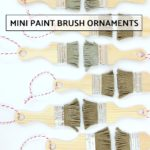 DIY Mini Paint Brush Ornament