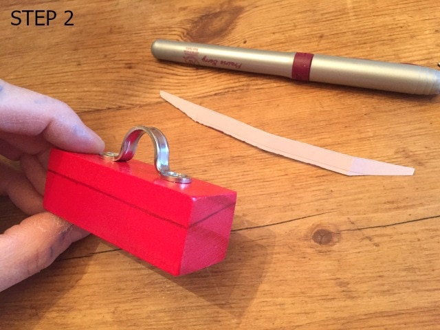 step 2 mini toolbox ornament