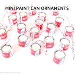 DIY Mini Paint Can Ornaments