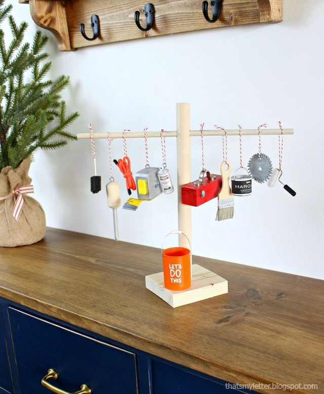 diy mini tool tree