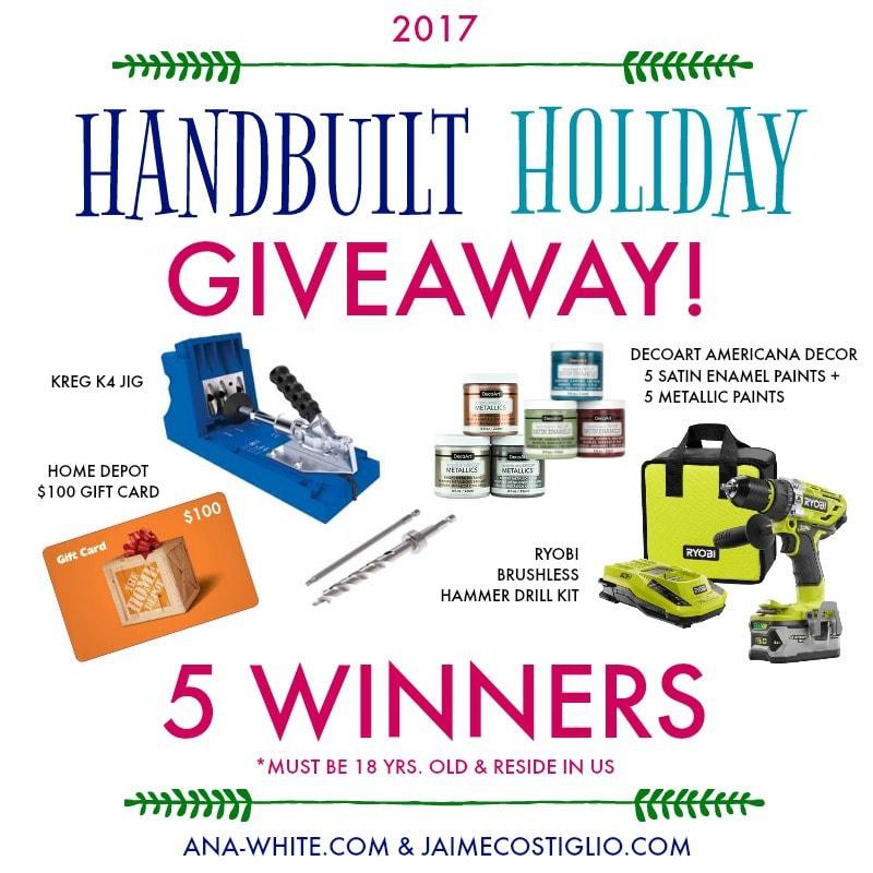handbuilt holiday giveaway