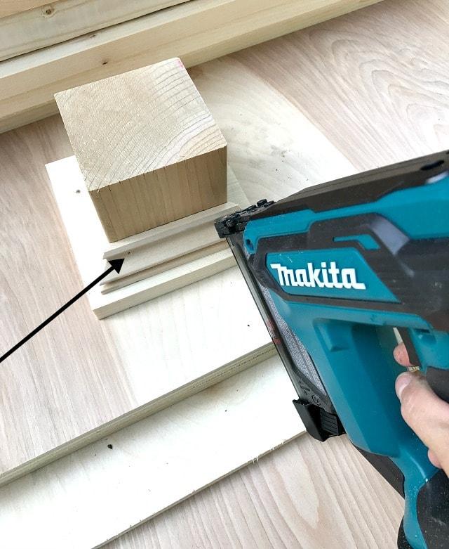 makita pin nailer making wood bases