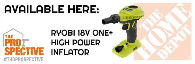 ryobi high power inflator