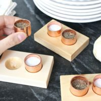 DIY Copper Salt & Pepper Cellars