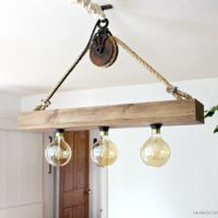 DIY Hanging Light Fixture