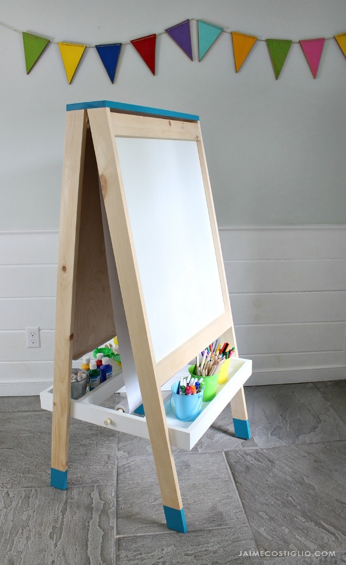 easel for kids whiteboard