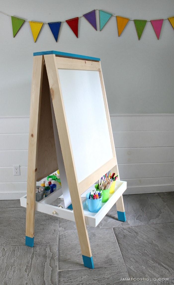 easel for kids whiteboard