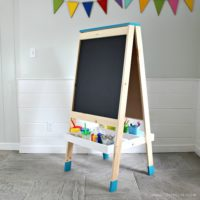 DIY Easel for Kids