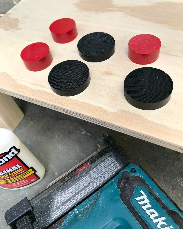 play grill wood knobs