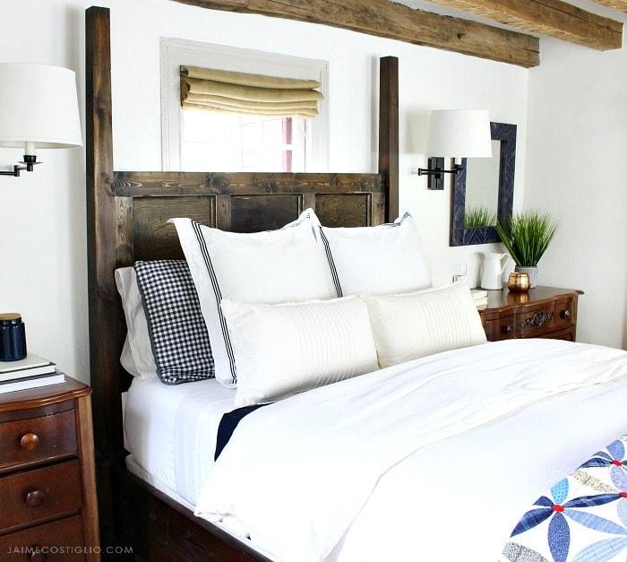 master bedroom bedding refresh
