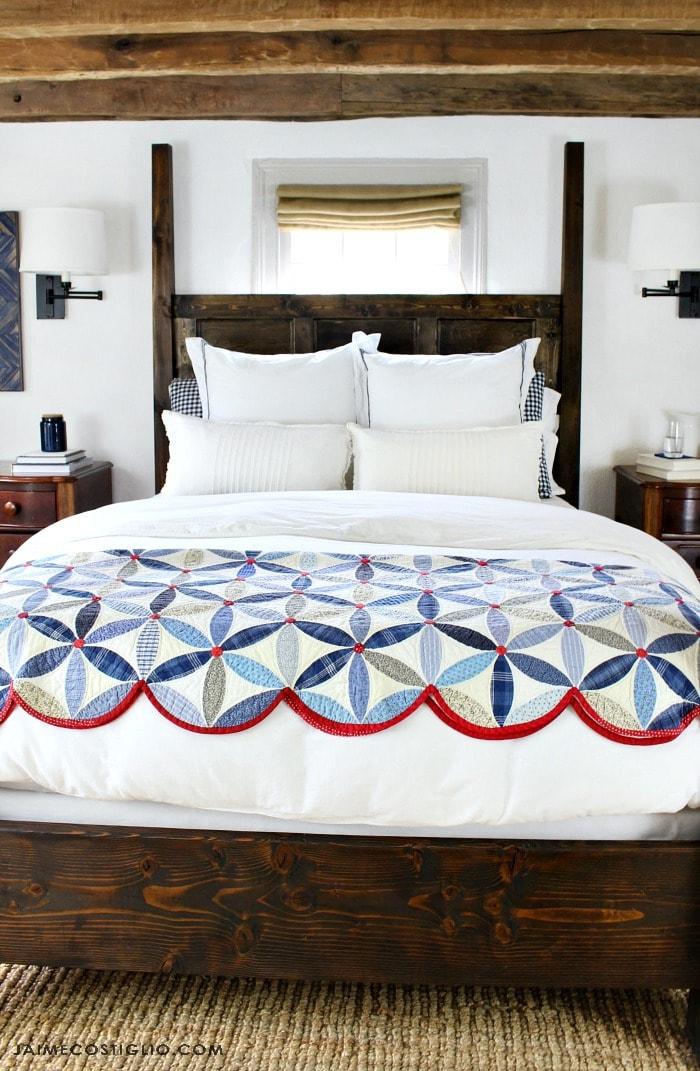 master bedroom poster bed