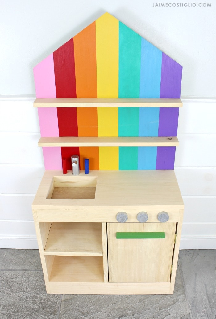 play kitchen free plans
