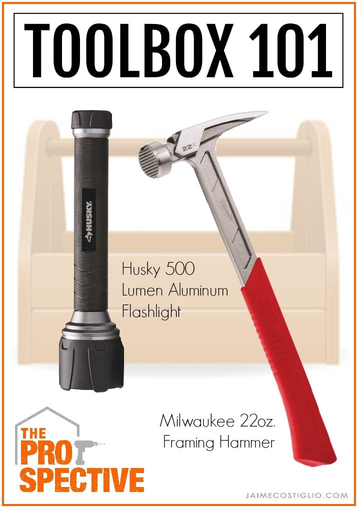 The Husky 500 Lumen Virtually Unbreakable Aluminum Flashlight And The  Milwaukee 22 Oz. Milled Face Framing Hammer Are Two Great Value Tools You  Wonu0027t Regret ...