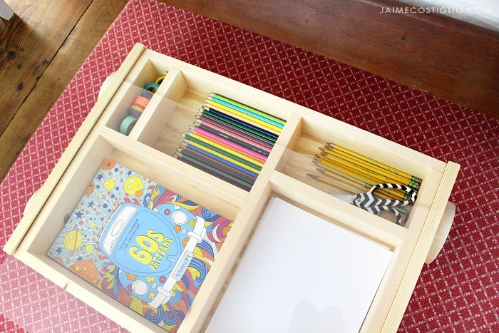 art trundle cart compartments