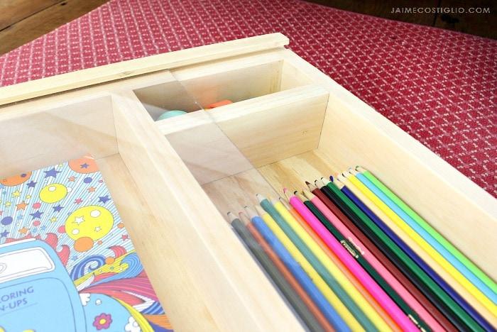 art trundle cart compartments
