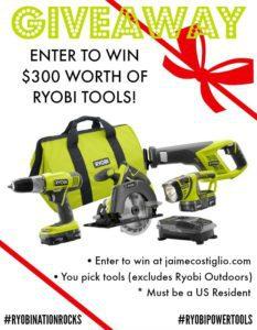 ryobi tools november giveaway