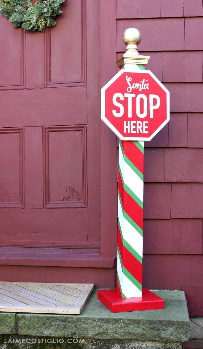 santa stop here post