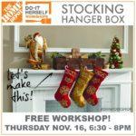 Stocking Hanger Box Workshop