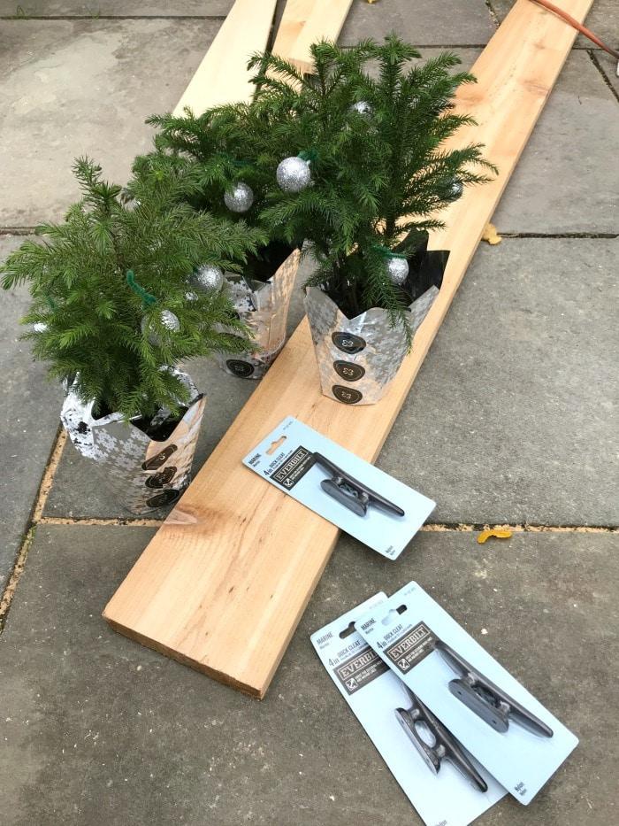 stocking hanger post supplies