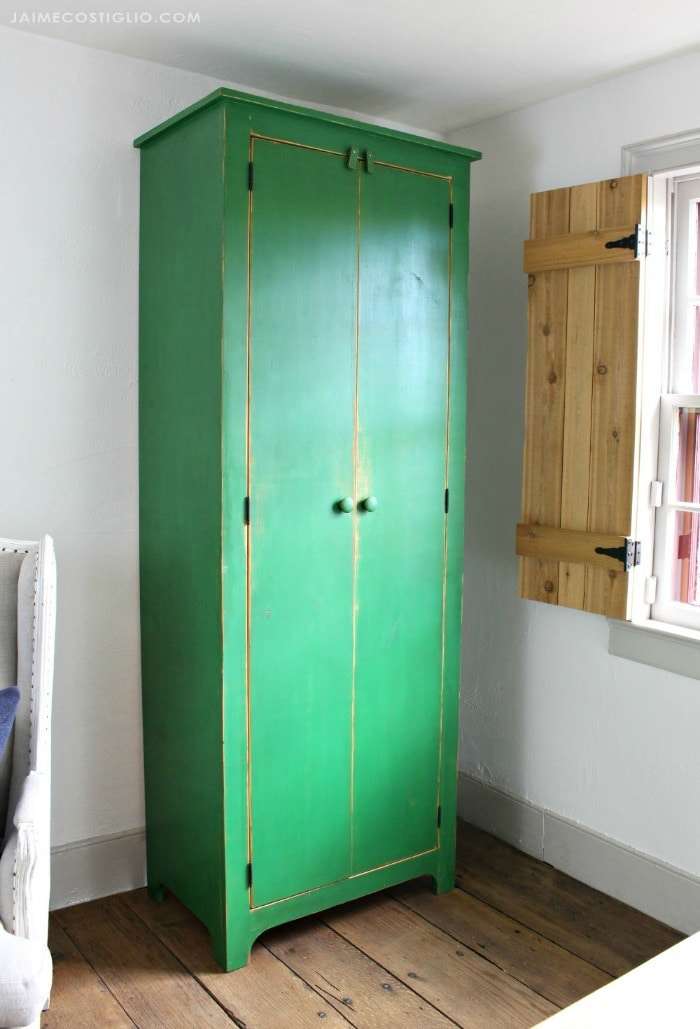diy tall cupboard