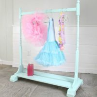 kids wardrobe rack feature