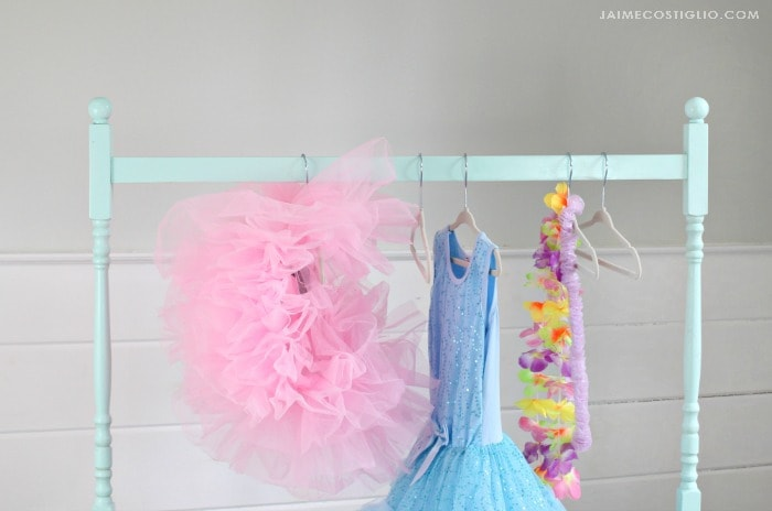 kids dress up rack