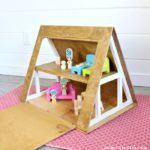 DIY A Frame Dollhouse