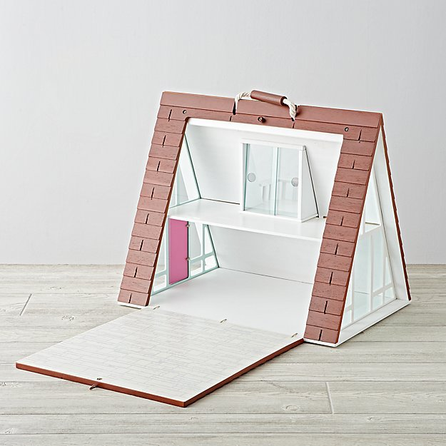 land of nod a-frame-dollhouse