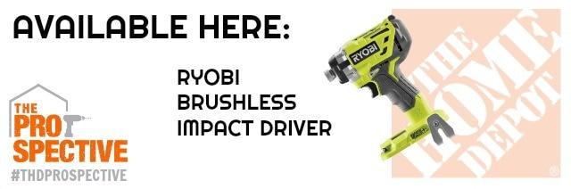 ryobi brushless impact driver