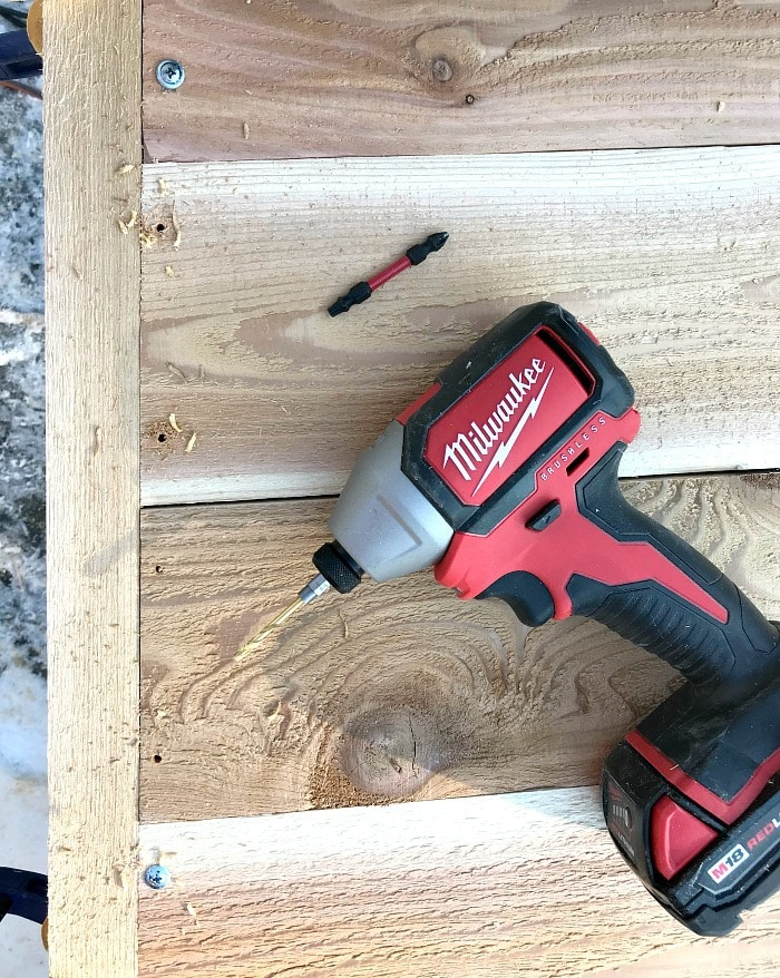 milwaukee impact driver in use