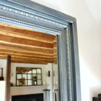 matte metallics frame feature