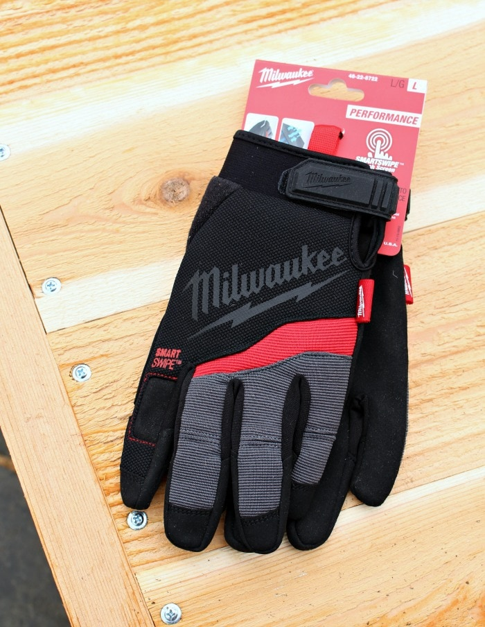 milwaukee performance gloves