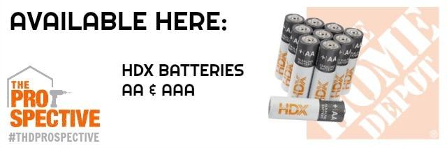 thd prospective hdx batteries