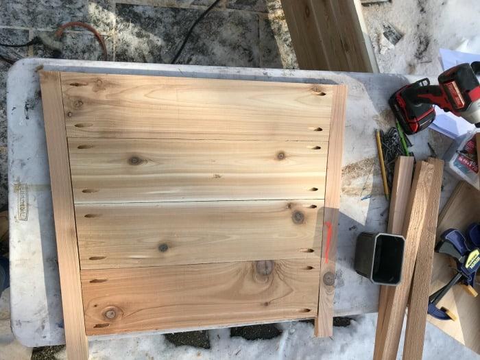 building exterior planters