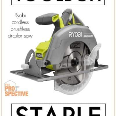 Toolbox Staple: Ryobi Cordless Circular Saw