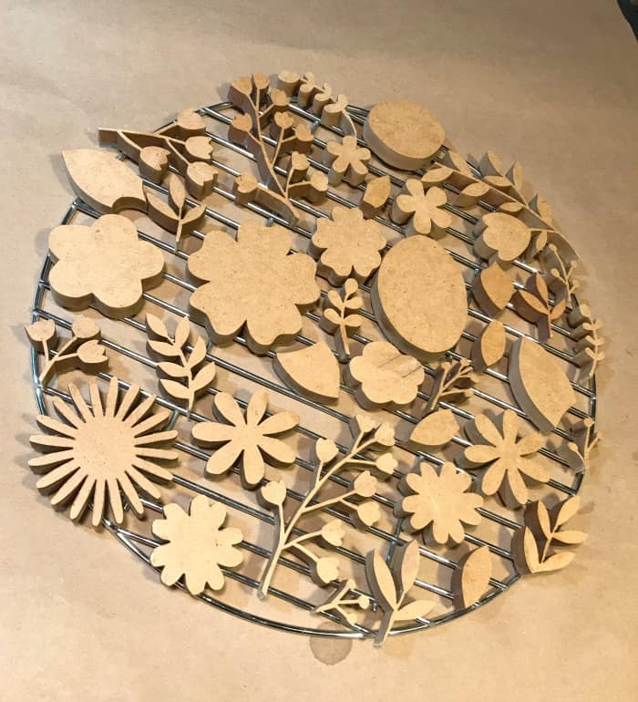 scroll saw cutting MDF