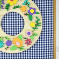 DIY Scroll Saw Floral Wreath Tutorial