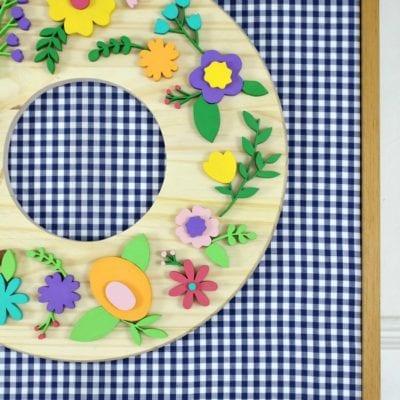 DIY Scroll Saw Floral Wreath Tutorial
