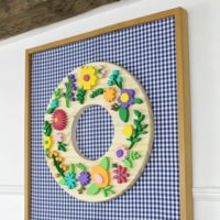spring wreath featured