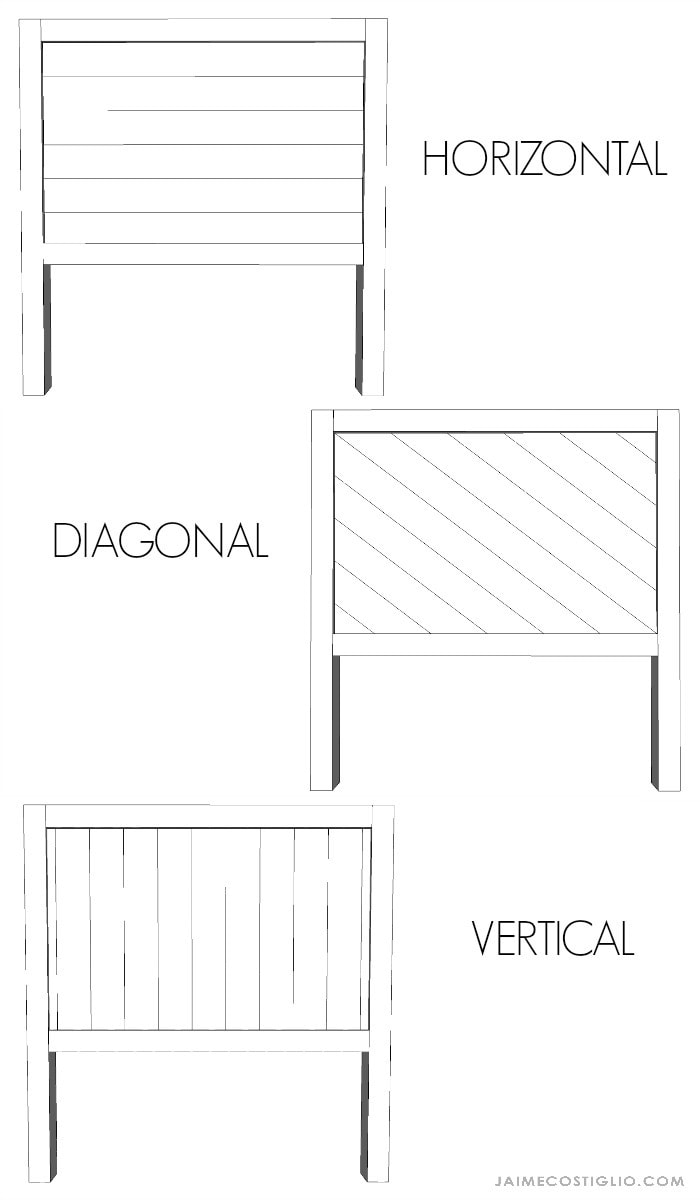 wood headboard options