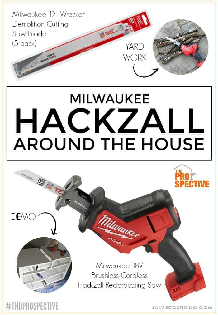 Milwaukee Hackzall around the house