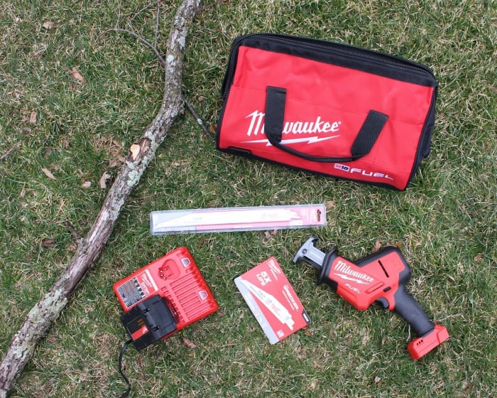 Milwaukee Hackzall saw kit