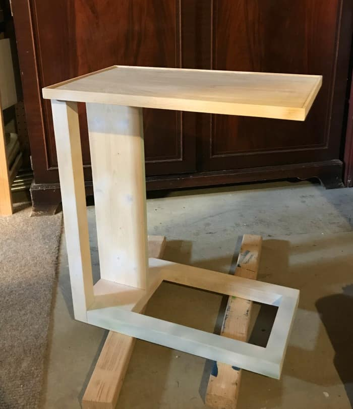 c table built