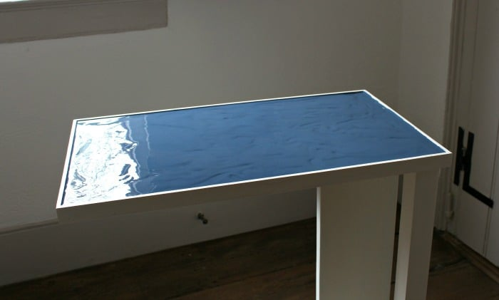 c table paint pouring base layer