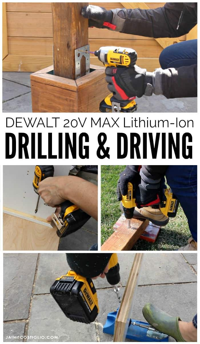 dewalt 20V max drill and impact driver