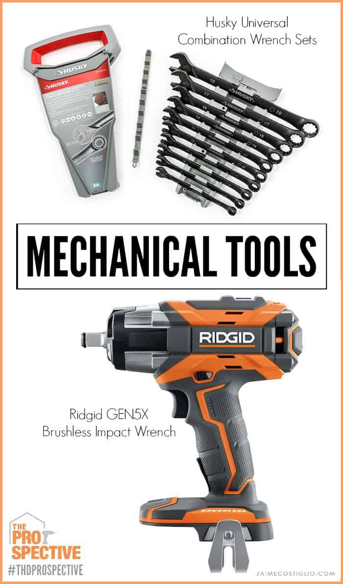 mechanical tools collage