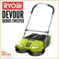 ryobi devour debris sweeper