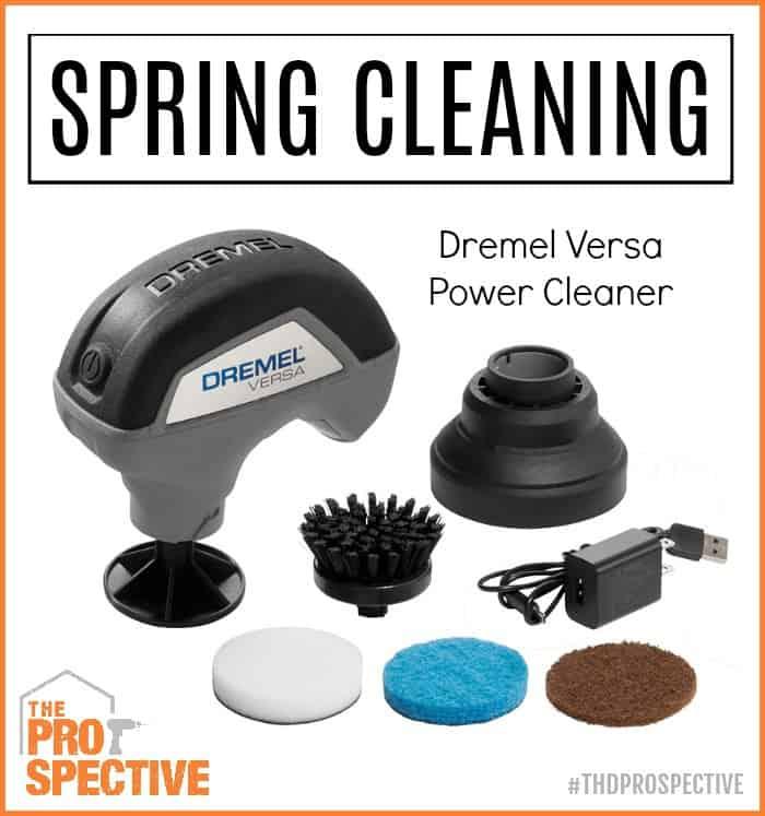 Dremel versa spring cleaning