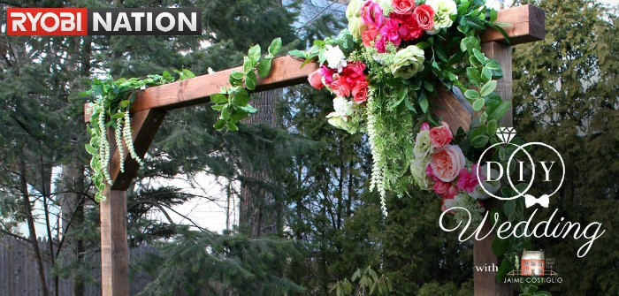 diy wedding projects on ryobi nation
