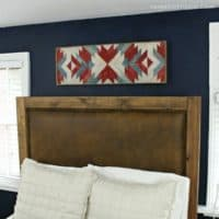stained wall art feature